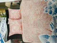 Сатиновое постельное белье Тиротекс (215*240/215*240/70*70)(модель 102-11324)