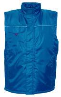 Теплый непромокаемый жилет BE-04-002 небесно-голубой