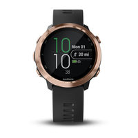 Forerunner 645 Music Black With Rose-Gold Hardware