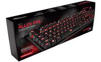 Kingston HyperX Alloy FPS Mechanical Gaming Keyboard (RU), Mechanical keys (Cherry® MX Brown key switch) Backlight (Red), 100% anti-ghosting, Key rollover: 6-key / N-key modes, Ultra-portable design, Solid-steel frame, Convenient USB charge port, USB