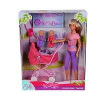 Simba Кукла Стеффи с коляской