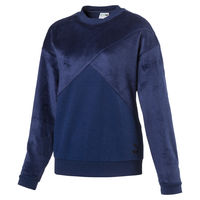 Батник Puma Fabric Block Crew Sweat Midseason