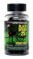 Cloma Pharma Black Spider 25 100cap