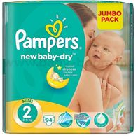 Pampers New Baby Mini 2 (3-6 кг.) 94 шт.