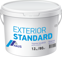 Краска водоэмульсионная фасадная Haus Standard 4 кг