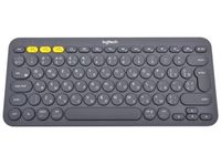 Wireless Keyboard Logitech K380 Multi-Device, Compact, FN key, Bluetooth, 2xAAA, Dark Grey