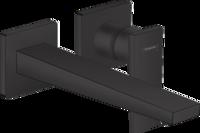 Metropol Baterie pentru lavoar, montare pe perete 225 mm