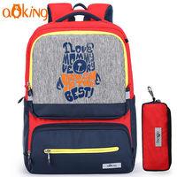 Детский ортопедический рюкзак с отражателями от Aoking