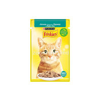 FRISKIES Adult c уткой в подливе 100gr