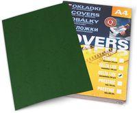ARGO Картон ARGO Delta A4/250г/м2, 100 листов, зеленый