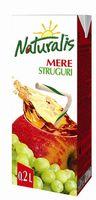 Naturalis сок яблоко-виноград 0,2л