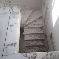 Лестница из Мраморна  Volakas 2 см