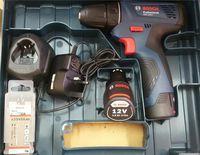 Аккумуляторный шуруповёрт с литий-ионным аккумулятором Bosch GSR 120-LI (06019F7001)