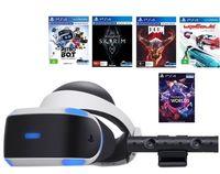 купить VR Goggles Sony PlayStation Mega Pack + Camera V2 + 5 Games в Кишинёве