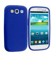 Husa de protectie silicon GO COOL pentru Galaxy S3, Blue