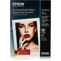 Epson Archival Matter Paper, A4 189g 50p