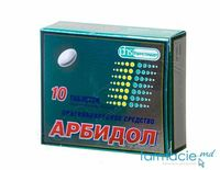 Arbidol comp.film.50 mg N10