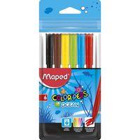 MAPED Фломастер MAPED Ocean, 6 цветов