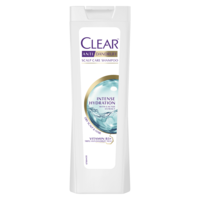 Шампунь против перхоти Clear Intense Hydration, 400 мл