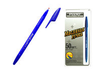 Ручка гелевая PT-1147B soft ink,1mm, синяя