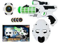 """купить Набор пистолет космический, браслет,пули,шлем """"Super Battle"""" в Кишинёве"""