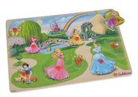 Eichhorn Пазл деревянный Disney Princess, 11 частей