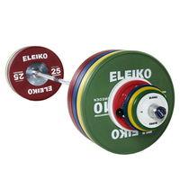 Комплект штанги Eleiko Olympic для соревнований: 190 кг (мужской)