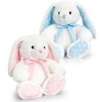 Baby Spotty Bunny cu arcul de 15 cm, cod 42938