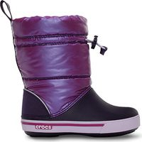 Kids' Crocband™ Iridescent Gust Boot Viola / Mulberry