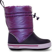 Kids' Crocband™ Iridescent Gust Boot Viola / Mulberry