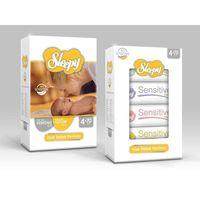 Sleepy влажные салфетки для новорожденных, 70шт