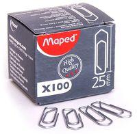 MAPED Скрепки MAPED пирамидальные, 25 мм, 100 штук