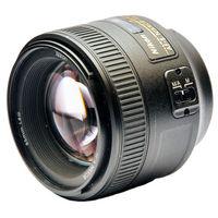 NIKON 85mm AF-S f/1.8 G, чёрный