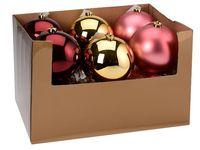 купить Шар елочный 150mm матовый, глянцев, бордо, светло-розов, зол в Кишинёве