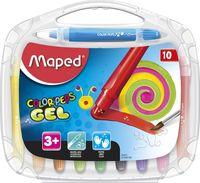 MAPED Карандаши гелевые MAPED Gel, 10 цветов