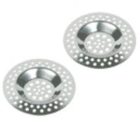 """Фильтр для раковины """"Axentia"""", диаметр 7 см, 2 шт"""