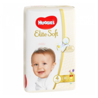 Huggies scutece Elite Soft 4, 8-14 kg, 66 buc.