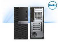 DELL OptiPIex 3040 MT Intel® Core® i3-6100 (Dual Core, 3.70GHz, 3MB), 4Gb DDR3 RAM, 500Gb HDD, DVDRW, Intel® HD530 Graphics, 240W PSU, USB mouse, USB KB216-B, Win 10 Pro EN, Black