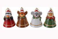 Колокольчик керамический рождественский