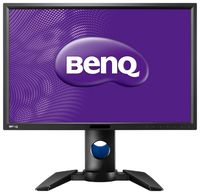 """24.1"""" BenQ """"PG2401PT"""", Black (AH-IPS/GB-R LED, 1920x1200, 5ms,350cd,1000:1, HDMI+DVI+DP, HAS) REPACK (24.1"""" AH-IPS : GB-R LED, 1920x1200 WUXGA, 0.27mm, 5ms, 350 cd/m², CR 1000:1, 99% Adobe RGB Coverage, 1.07 Billion out of 4.4 trillion (8 bit/color + FRC), 178°/178° @C/R>10, 31.5-94 kHz(H)/50-85 Hz(V), mini-DP, DisplayPort + HDMI + DVI-D + Analog D-Sub, USB 3.0 2x Hub, Built-In PSU, HAS 150mm, Tilt: -5°/+20°, Swivel: +/-45°, Pivot, VESA Mount 100x100,  14 bits 3D LUT / HW calibration / Delta E≤2 (avg) / G7 certification / Fogra certification/ Brightness Uniformity / Card reader  , Gark Gray)"""