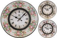 """купить Часы настенные круглые """"Ретро"""" D34cm, цветы в Кишинёве"""