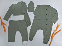 Набор одежды для новорожденного с перфорацией Primul Sens (4 ед.)