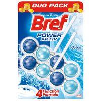 Bref Power для туалета Океанская Свежесть, 2x50 гр