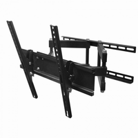"Wall Mount  Gembird ""WM-55RT-03"" Black 26""-55"", 50kg, VESA:up 400x400, Wall distance:125-470mm"