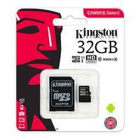 Карта памяти MicroSD Kingston SDCS/32GB