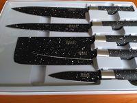 Ножи с мраморным покрытием BASS (5 штук)