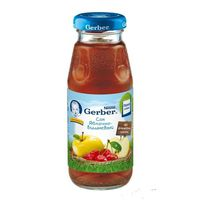 Gerber сок яблоко-вишня с 5 мес. 175мл