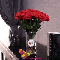 купить Букет из 25 красных роз в Кишинёве