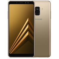 Samsung Galaxy A8 Plus (A730) Dual Sim 64GB, Gold