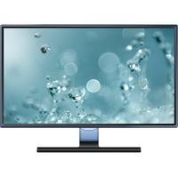 """23.6"""" SAMSUNG """"S24E390H"""", G.Black/Blue (PLS, 1920x1080, 4ms, 250cd, LED Mega-DCR, HDMI+D-Sub) (23.6"""" PLS W-LED, 1920x1080 Full-HD, 0.272mm, 4ms (GtG), 250 cd/m², Mega ∞ DCR (1000:1), 16.7M, 178°/178° @CR>10, D-Sub + HDMI, HDMI Audio-In, Headphone-Out, External Power Adapter, Fixed Stand T-Sape (Tilt -2/+15°), Magicbright, Magicupscale, Eco saving plus, Eye saver mode, Flicker free, Game mode,  Glossy-Black and Light Blue Touch Of Color T-shape Stand)"""